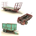 Farm Vehicle Collection - Poser