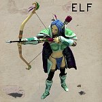 Cartoon Elf - Poser