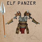 Panzer for Cartoon Elf