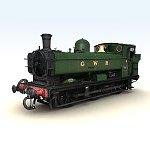 GWR Tank Engine - Poser