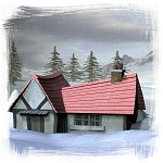 Toon Cottage - Poser