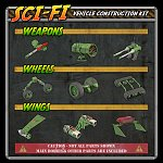 Sci-Fi Construction Kit - Vehicles